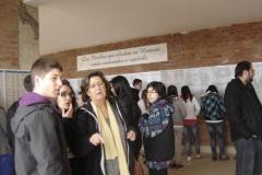 I.E.S. Villegas de visita en La Barranca.